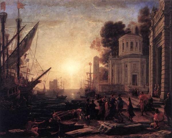 The Disembarkation of Cleopatra at Tarsus WGA